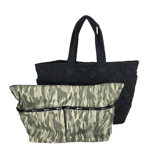 LeSportsac 2 in 1 Bag Bag Travel Tote