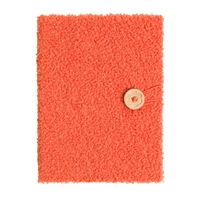 U Brands Soft Sherpa Fuzzy Hardcover Lined Journal