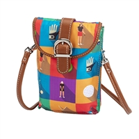 Sydney Love Sport Golf Championship Round Phone Crossbody Bag