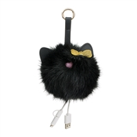 Kitten Pom Pom Portable Charger Power Bank