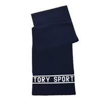 5d0cc8db4ee Tory Burch Tory Sport Knit Logo Scarf
