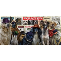 SunsOut Usual Suspects Dogs 1000 Pc Jigsaw Puzzle