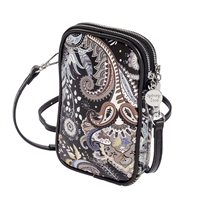 Sydney Love Double Zip Pouch Crossbody Bag