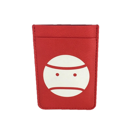 Tory Burch Little Grumps Tennis Sticker Phone Pocket Card Holder