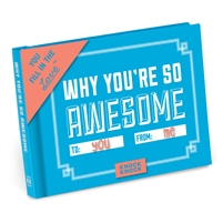 Knock Knock Why You're So Awesome Custom Fill In Mini Booklet