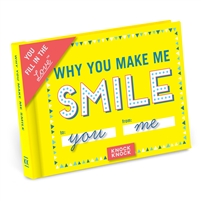 Knock Knock Why You Make Me Smile Custom Fill In Mini Booklet