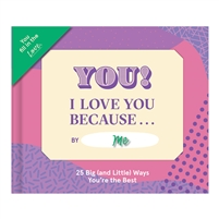 Knock Knock I Love You Becasue... Custom Fill In Little Book