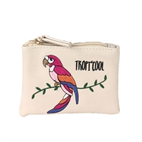 New Look Tropi'Cool Parrot Coin Purse