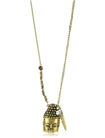 T.R.U. 1928 Jewelry Buddha Pendant Necklace