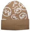 Michael Kors Circle Logo Knitted Beanie Hat