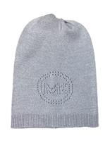 Michael Kors Sparkle Perforated Logo Beanie Hat