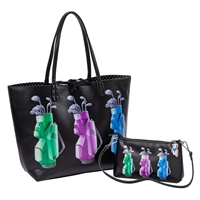 Sydney Love Golf Reversible Tote & Wristlet Set