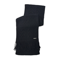 Michael Kors Cable Knit Fringe Scarf