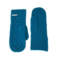 Michael Kors Cable Knit Mitten Gloves