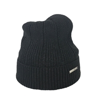 Michael Kors Metallic Knit Beanie Hat