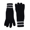 Michael Kors Dazzling Stripe Trim Knit Gloves