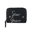 New Look Star Gazer Mini Zip Wallet Card Case