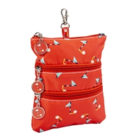 Sydney Love Sport Golf Pin High Clip On Zip Pouch