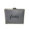 New Look Friday Shimmering Box Clutch Evening Bag