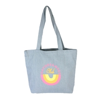 TOOT Daydreamers Club Daily Grind Reversible Canvas Tote