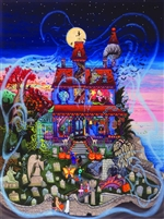 Ghost and the Haunted House 1000 Piece Jigsaw Puzzle