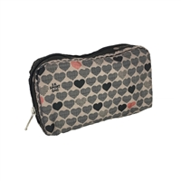 LeSportsac Rectangular Cosmetic Case Stop for Love