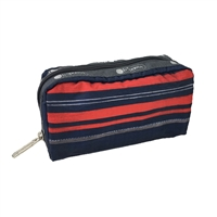 LeSportsac Rectangular Cosmetic Case Saddle Stripe