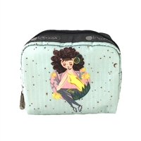 LeSportsac Classic Square Zip Cosmetic Case
