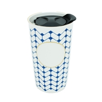 I Am Royalty DIY Personalized Ceramic Travel Tumbler