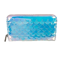 Mermaid Scales Zip Around Wallet