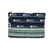 LeSportsac 3 Zip Cosmetic Case