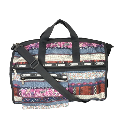 LeSportsac Large Weekender Travel Duffel Bag