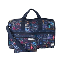 LeSportsac Large Weekender Travel Duffel Bag Little Orchestra