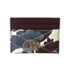 Tory Burch Kira Chevron Floral Print ID Card Case