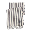Tory Burch Striped Crochet Oblong Blanket Scarf