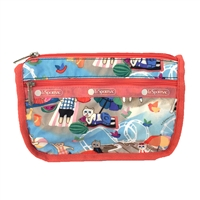 LeSportsac Travel Cosmetic Case Caturday
