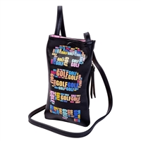 Sydney Love Sport Words with Golf Friends Phone Crossbody Bag