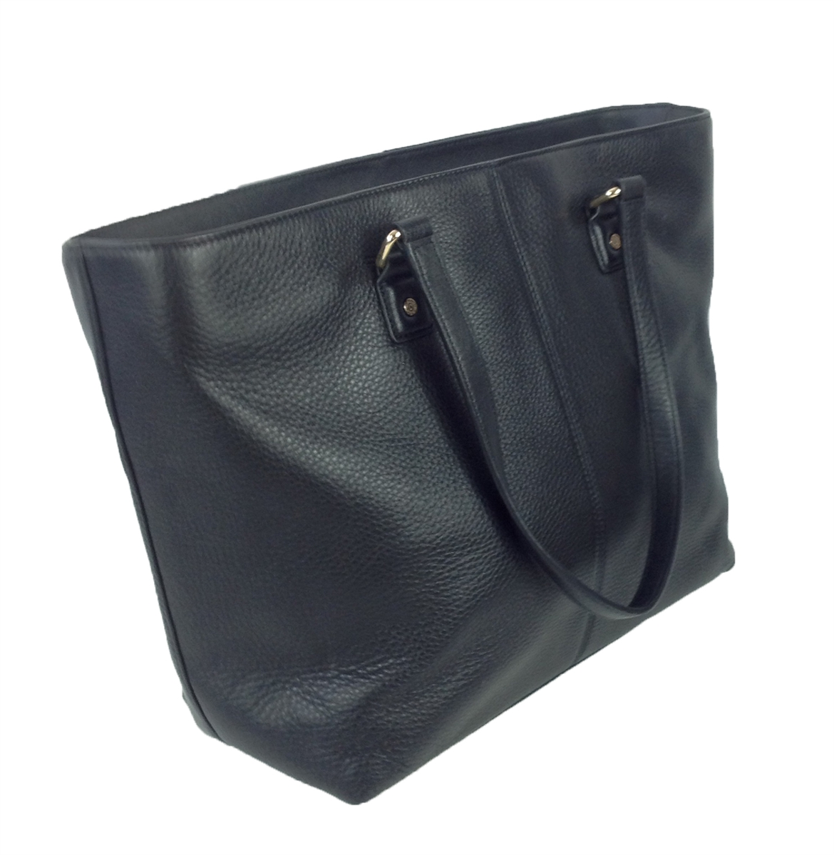 DKNY Soft Ego Leather N/S Tote, Black