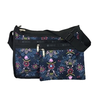 LeSportsac Deluxe Everyday Convertible Bag Evening Blues