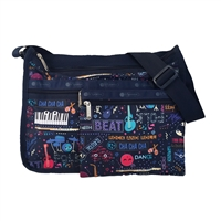 LeSportsac Deluxe Everyday Convertible Bag Little Orchestra