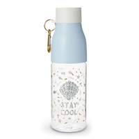 Stay Cool BPA Free Travel Water Bottle w Hook