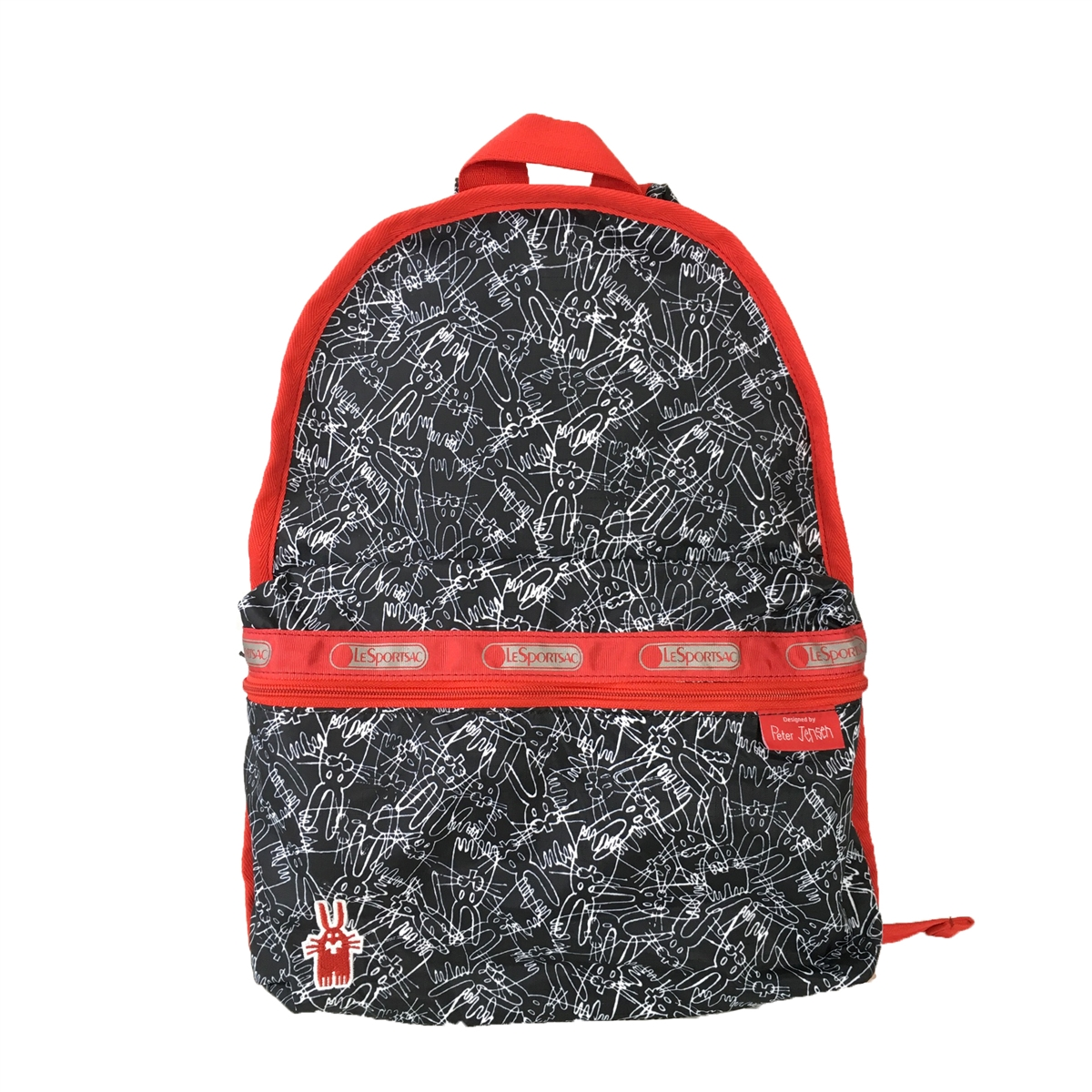 e67b5f1c5 LeSportsac x Peter Jensen Basic Backpack, Scribble Rabbits