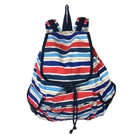 LeSportsac Voyager Backpack Sailor Stripe