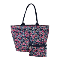 LeSportsac EveryGirl Tote Delightful Navy