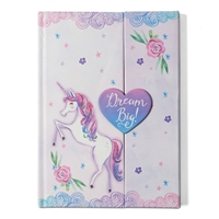 Dream Big Unicorn Diecut Magnetic Journal