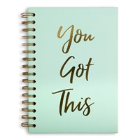 You Got This Hardcover Spiral Notebook