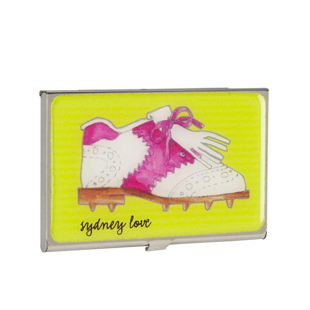 Sydney Love Sport Golf Shoe Business Card Holder Card Case,