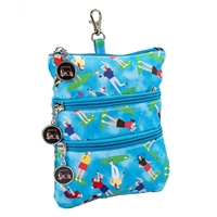 Sydney Love Sport Golf Match Play Clip On Zip Pouch