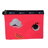 LeSportsac Modern Pouch Padded Travel Zip Case