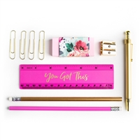 You Got This Pen Pencil Ruler Stationery Set